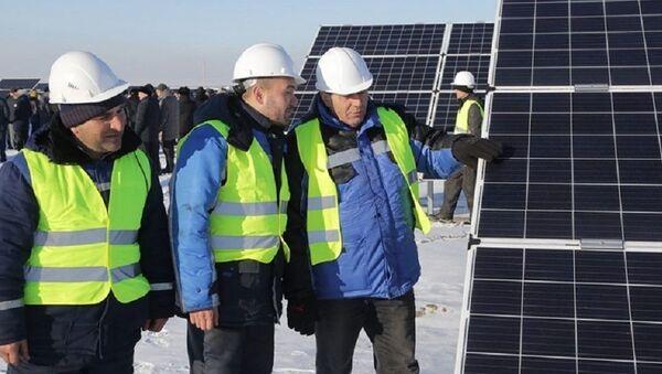 Sluneční elektrárna SES Saran - Sputnik Česká republika
