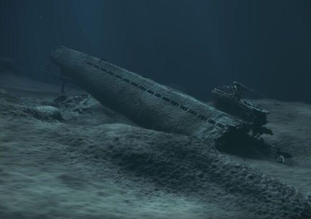 Německá válečná ponorka U-864