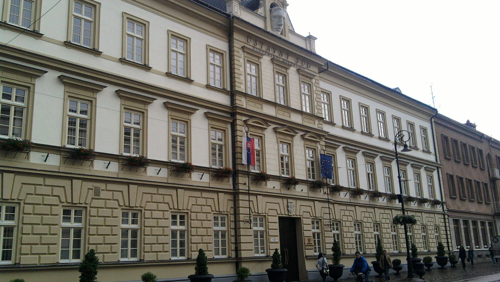 Ústavní soud Slovenska - Sputnik Česká republika, 1920, 31.03.2021