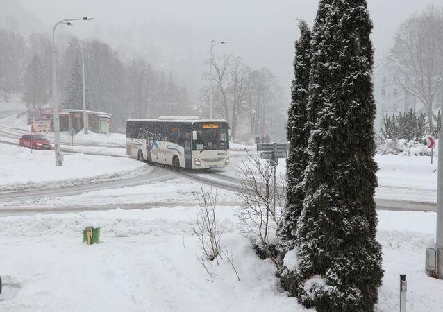 Problémy má i autobusová doprava