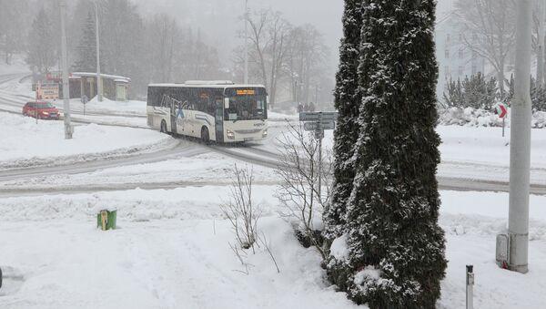Problémy má i autobusová doprava - Sputnik Česká republika