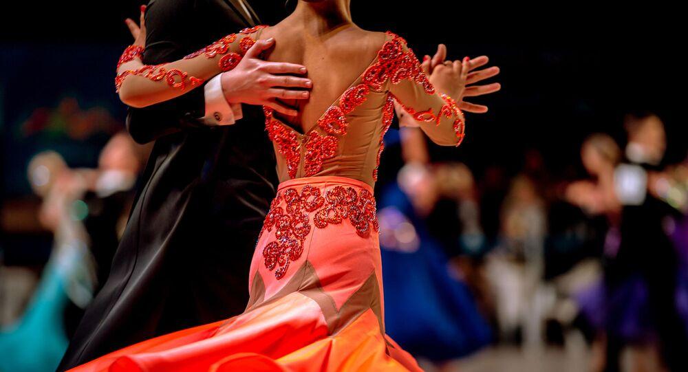 Taneční pár. Ilustrační foto