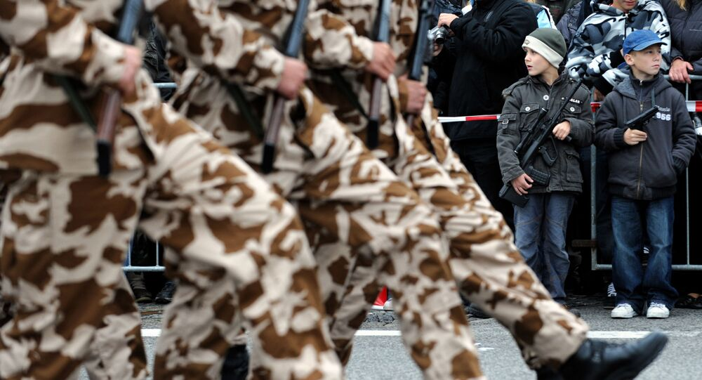 Vojenská přehlídka v Bratislavě, 2008