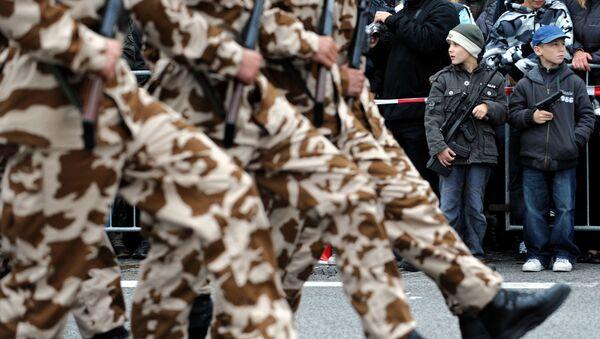 Vojenská přehlídka v Bratislavě, 2008 - Sputnik Česká republika