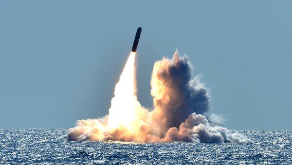 Odpálení americké balistické rakety Trident II D5 - Sputnik Česká republika