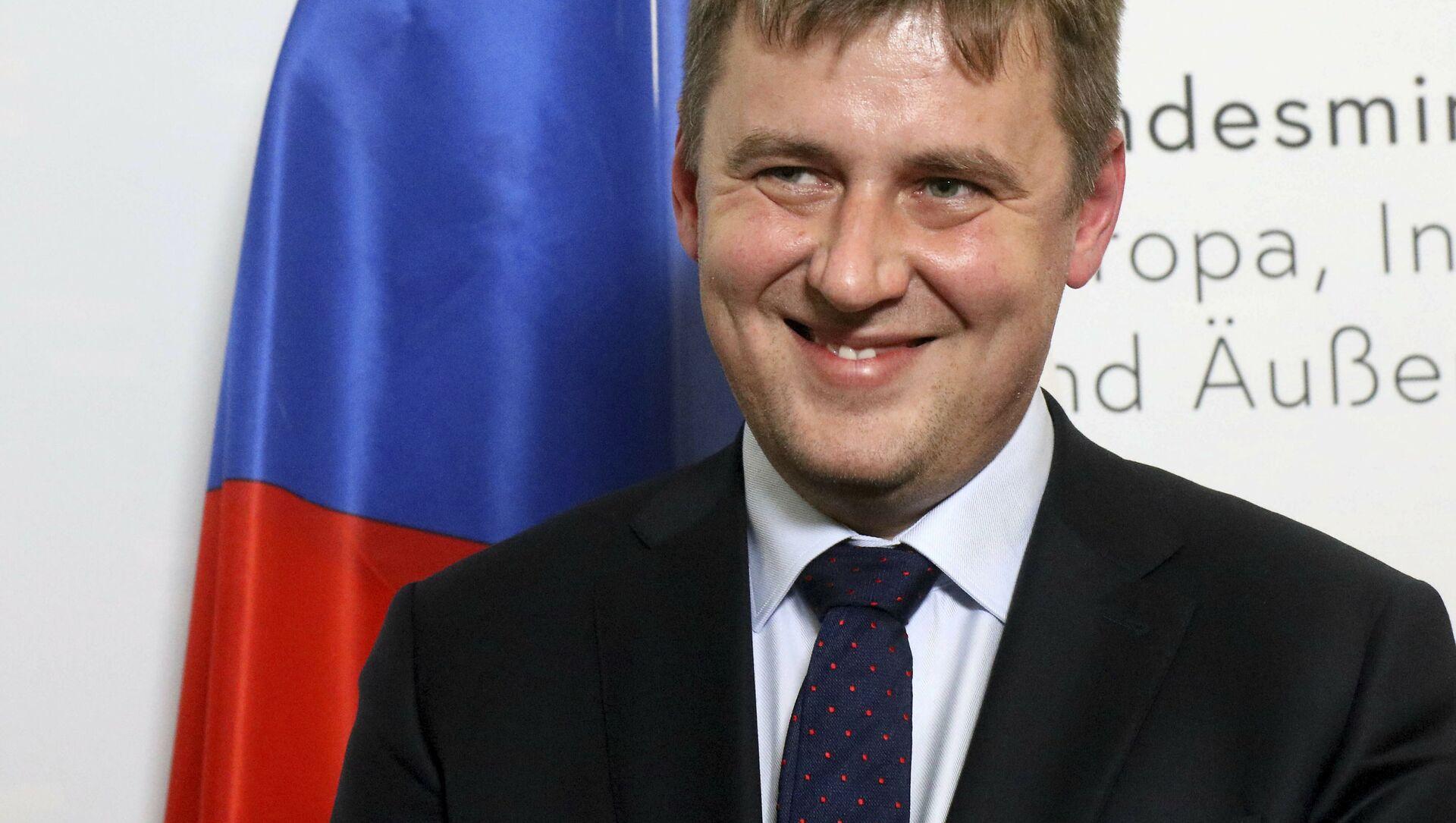Český ministr zahraničí Tomáš Petříček - Sputnik Česká republika, 1920, 11.04.2021