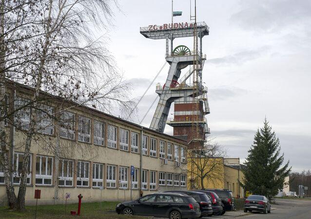 Mědný důl Rudna v polských Polkowicích