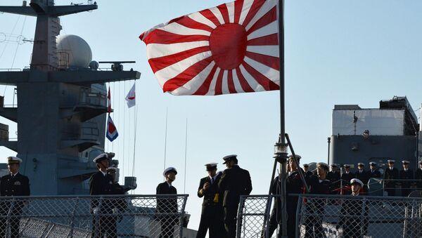 Lodě japonského námořnictva ve Vladivostoku - Sputnik Česká republika