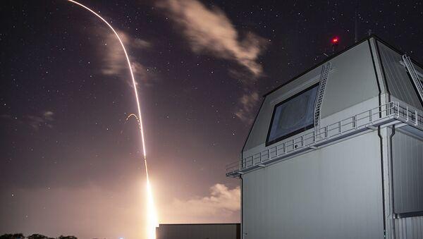 Zkouška v rámci amerického programu globální protiraketové obrany v Tichém oceánu - Sputnik Česká republika