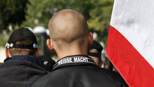 deutsche Neonazis - Weiße Macht (Archivbild) - Sputnik Česká republika