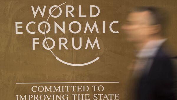 Logo světového fóra v Davosu - Sputnik Česká republika