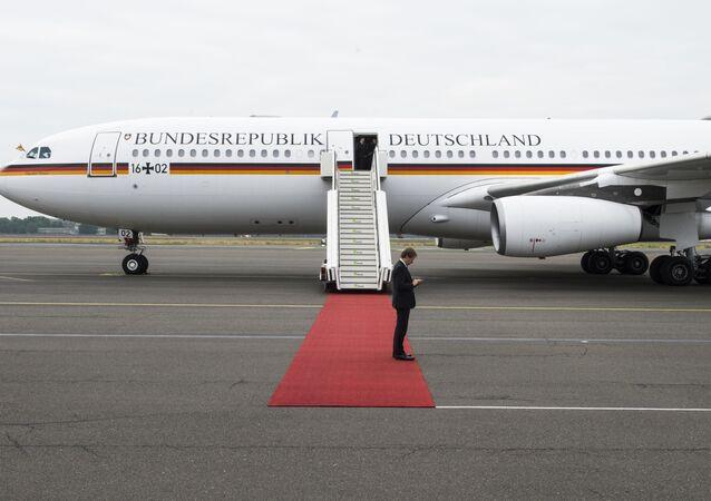 Německý vládní Airbus A340 Theodor Heuss