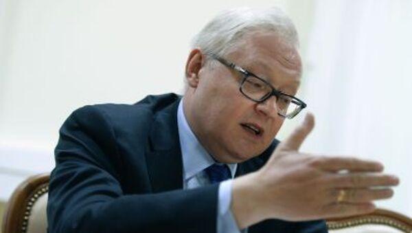 Náměstek ministra zahraničí RF Sergej Rjabkov - Sputnik Česká republika