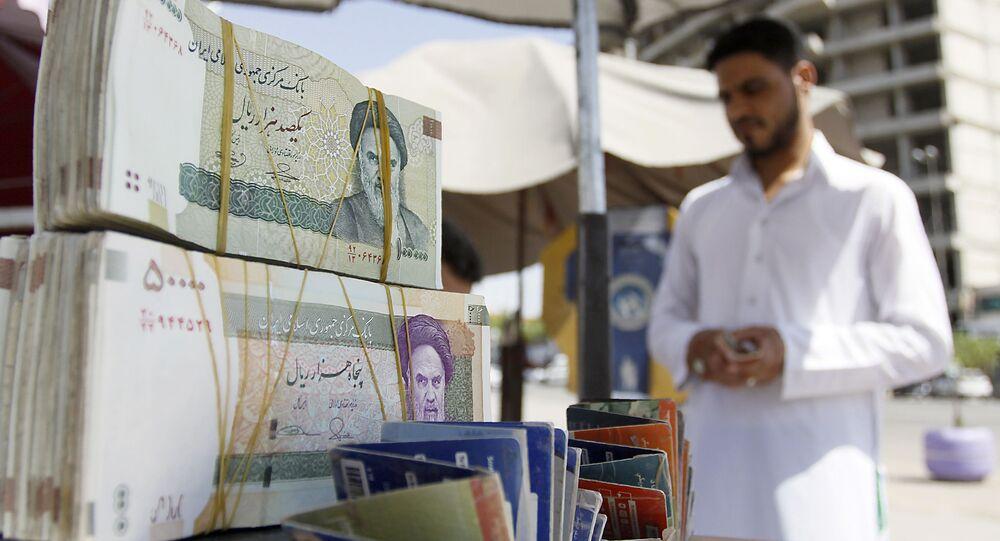 Pouliční prodavač, Írán