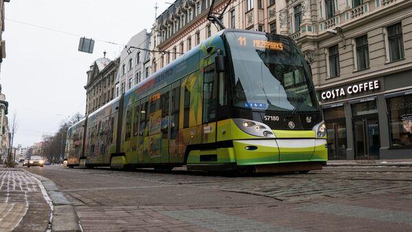 Tramvaj společnosti Škoda v Rize - Sputnik Česká republika