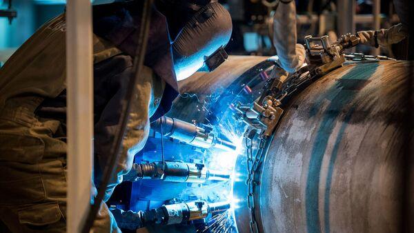 Pokládka potrubí Tureckého proudu - Sputnik Česká republika