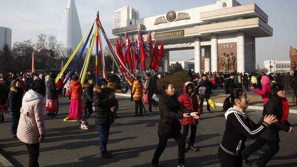 1. ledna v Pchjongjangu, KLDR - Sputnik Česká republika