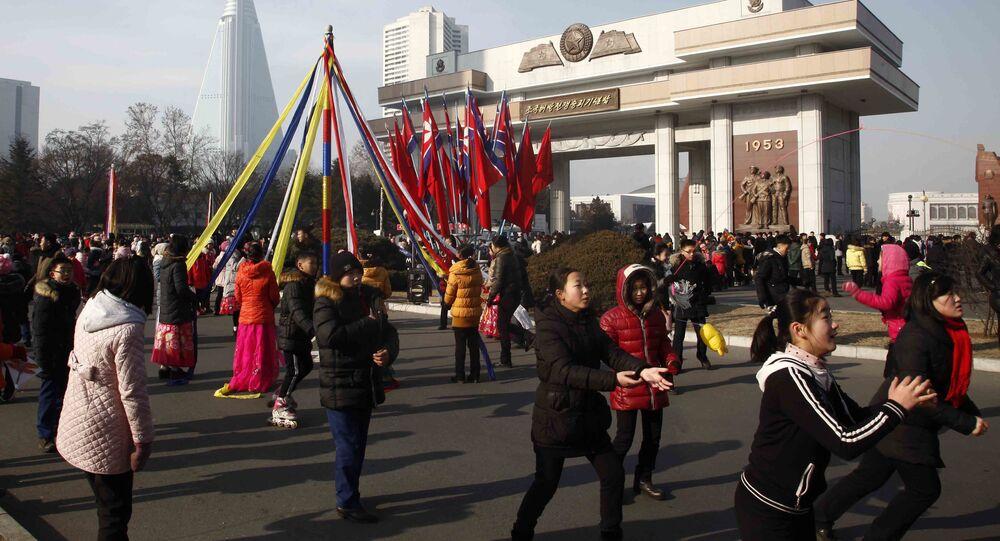 1. ledna v Pchjongjangu, KLDR