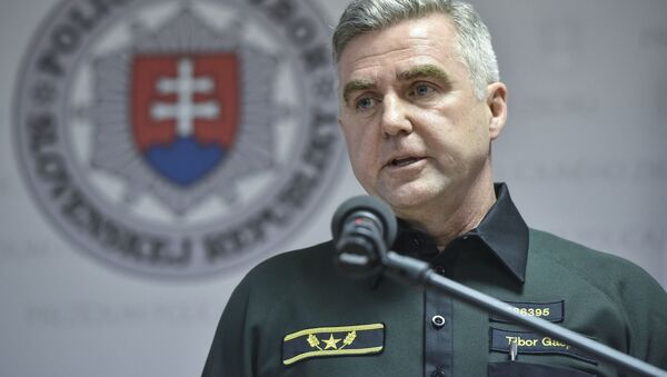Bývalý poradce Ministerstva vnitra SR Tibor Gašpar - Sputnik Česká republika