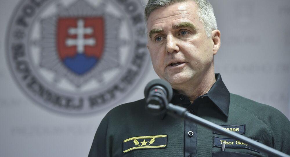 Bývalý poradce Ministerstva vnitra SR Tibor Gašpar