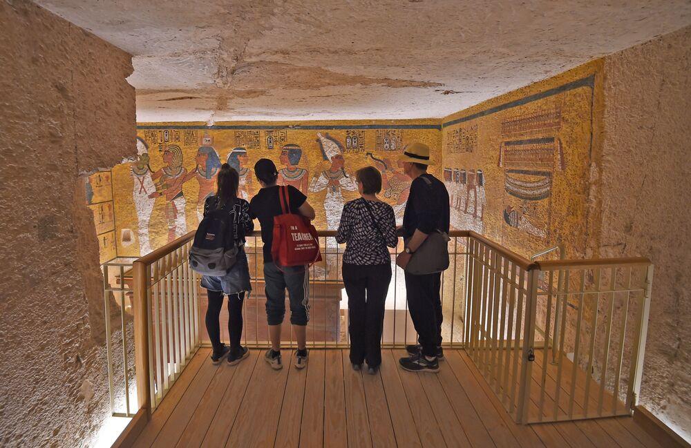Rekonstrukce prokleté hrobky faraóna Tutanchamona