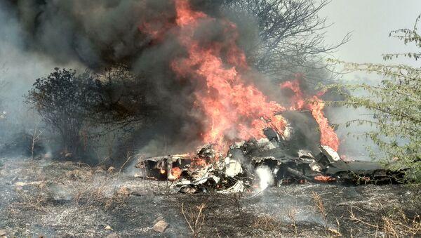 Stíhací letoun indického letectva Dassault Mirage 2000 se zřítil na základně Bengalúr - Sputnik Česká republika
