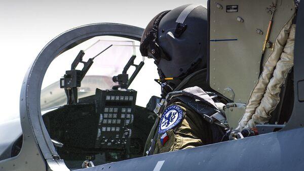 Český vojenský pilot - Sputnik Česká republika