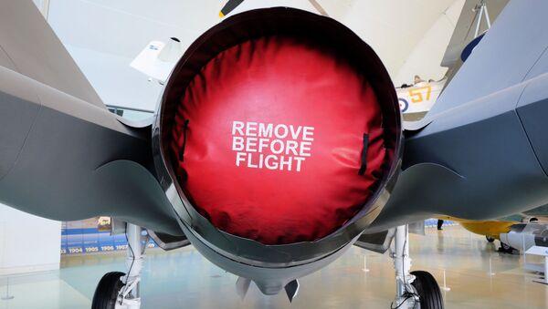 Motor stíhacího letounu F-35 - Sputnik Česká republika
