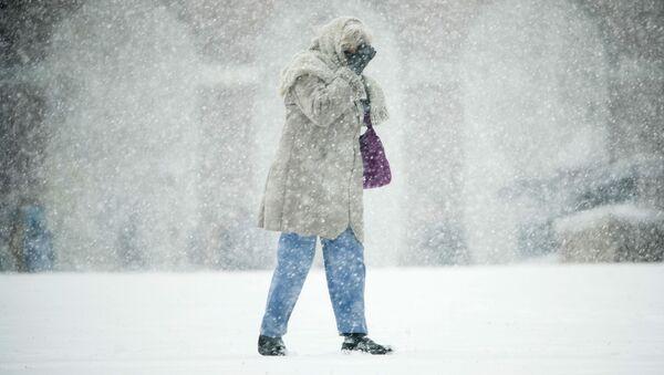 Sněhová bouře v USA - Sputnik Česká republika