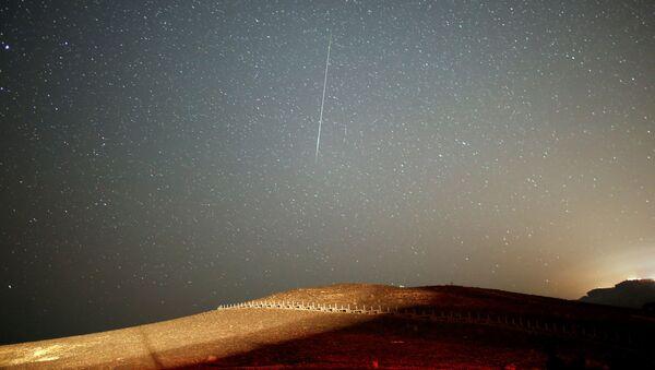 Meteorický roj Perseidy pozorovaný v Izraeli - Sputnik Česká republika