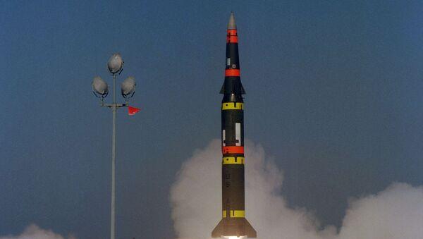 Zkouška americké střely Pershing II - Sputnik Česká republika