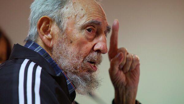 Fidel Castro - Sputnik Česká republika