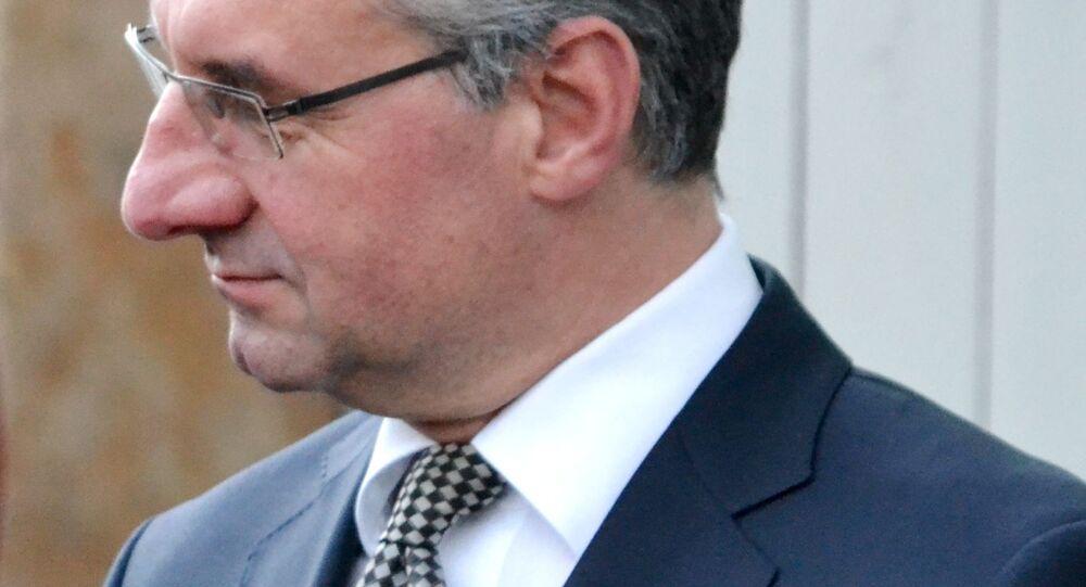 Jan Zahradil, poslanec v Parlamentu EU za ČR.