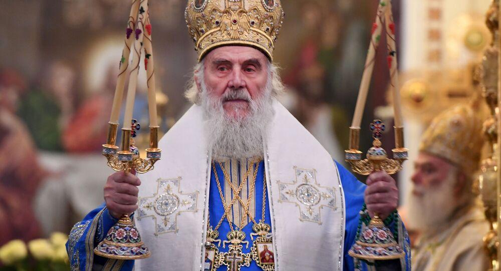 Patriarcha Srbské pravoslavné církve Irenej