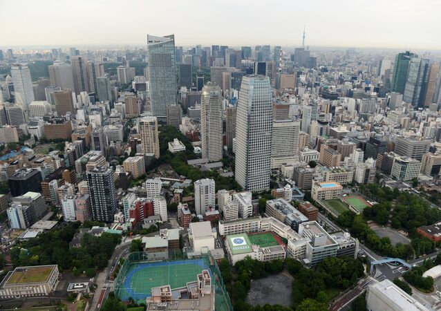 Výhled na Tokio