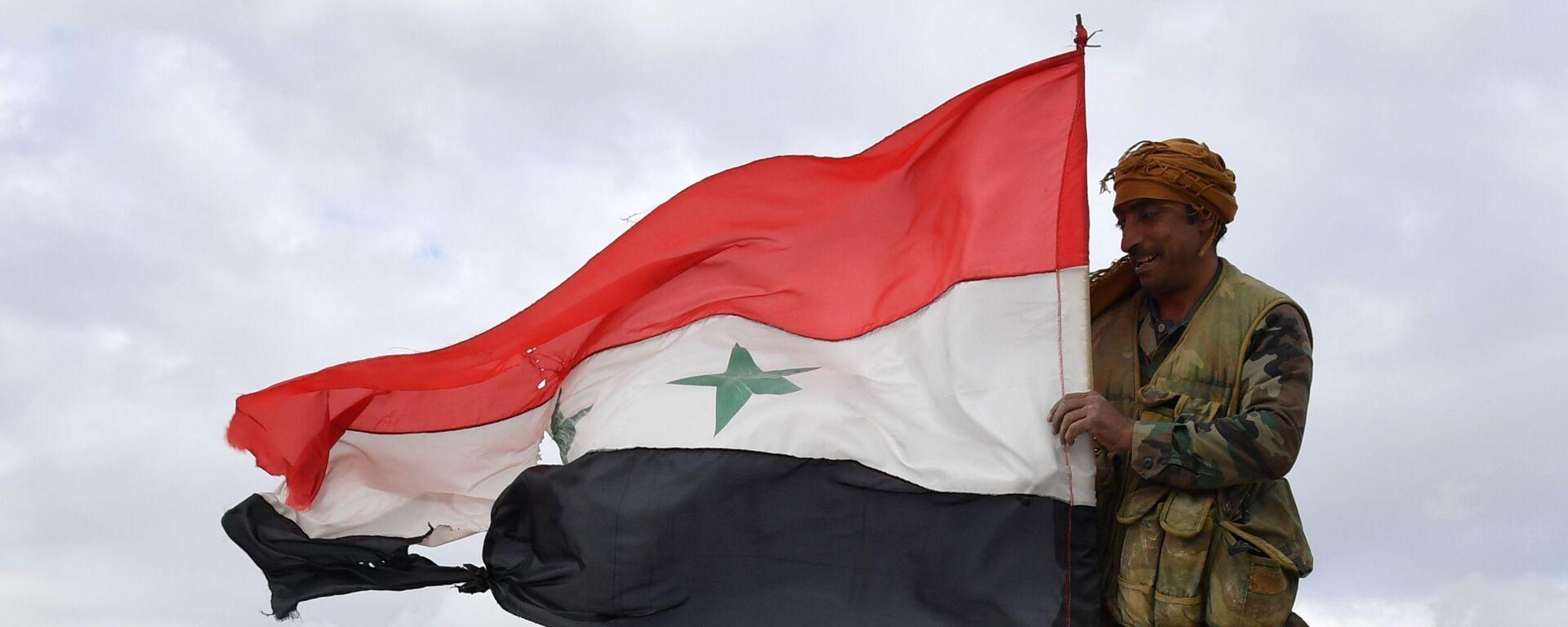 Syrský voják - Sputnik Česká republika, 1920, 08.07.2021