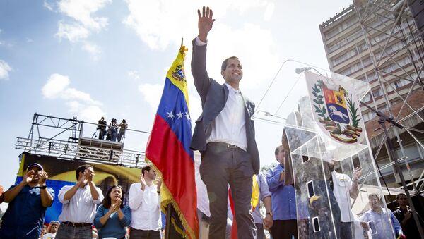 Juan Guaidó - Sputnik Česká republika