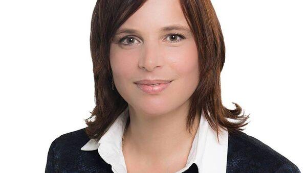 Veronika Remišová, poslankyně NR SR za stranu OĽaNO - Sputnik Česká republika