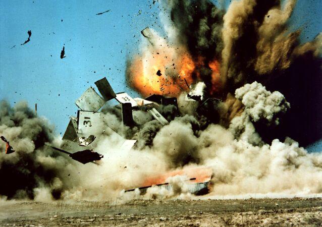 Zkouška americké rakety Tomahawk