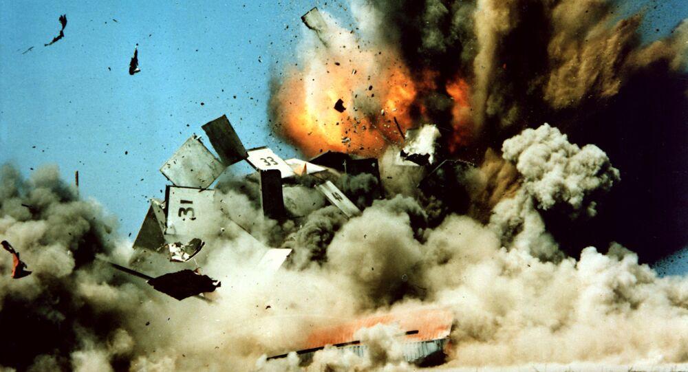 Zkouška americké rakety Tomahawk. Ilustrační foto