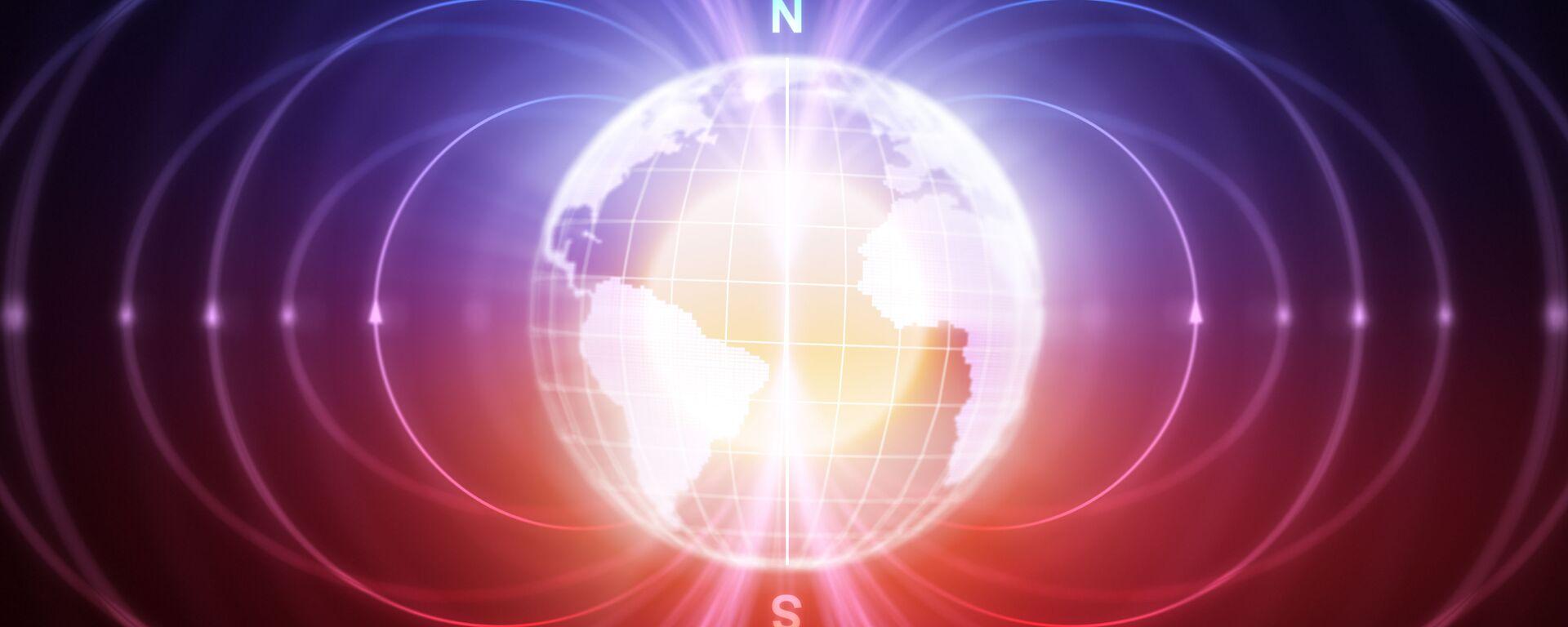 magnetické pole Zemi - Sputnik Česká republika, 1920, 06.06.2021