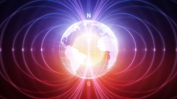 Magnetické pole Zemi - Sputnik Česká republika