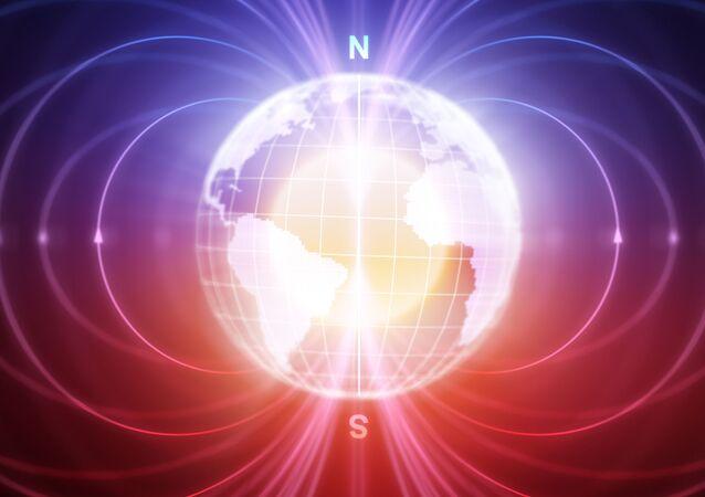 Magnetické pole Zemi