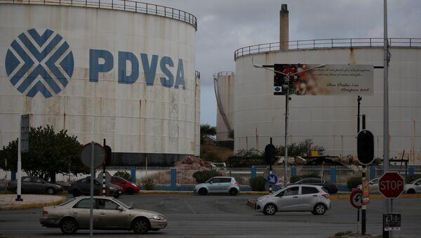 Logo venezuelské společnosti PDVSA - Sputnik Česká republika