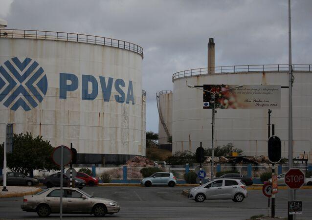 Logo venezuelské společnosti PDVSA