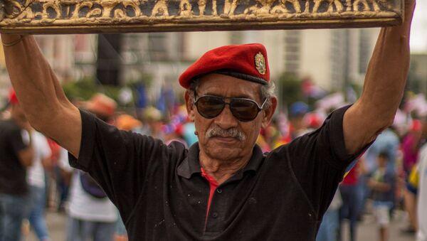 Akce na podporu venezuelského prezidenta Nikoláse Madura - Sputnik Česká republika
