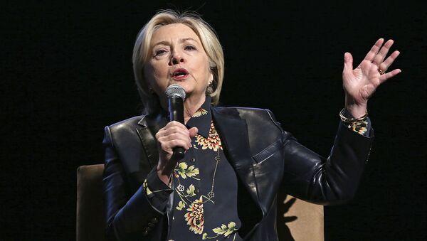 Bývalá ministryně zahraničí USA Hillary Clintonová - Sputnik Česká republika