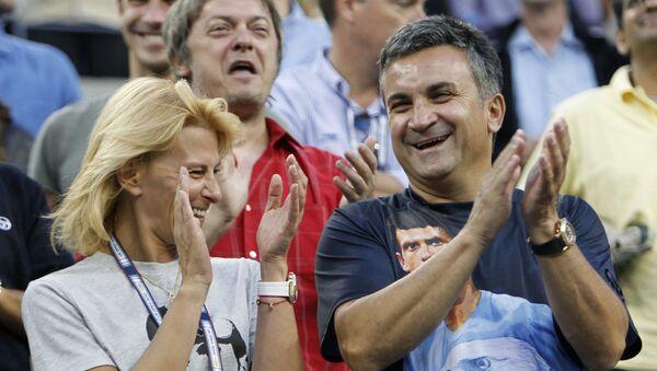 Srdan a Diana Djokovič, rodiče Novaka Djokoviče - Sputnik Česká republika