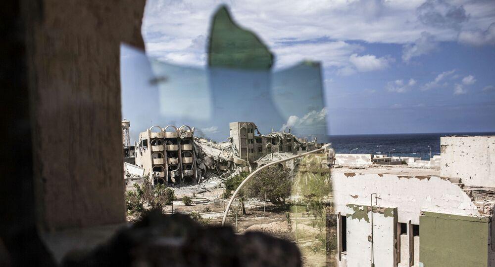 Zříceniny libyjského města Surt