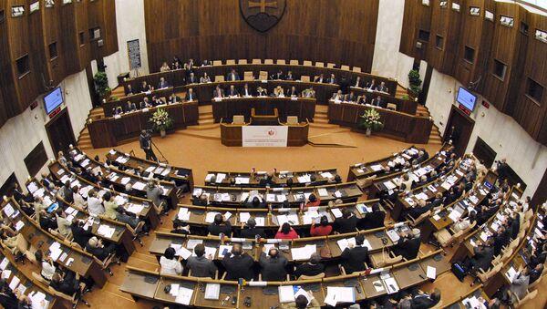 Národní rada Slovenské republiky - Sputnik Česká republika